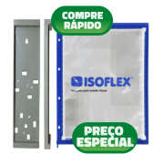 Kit 10 Pastas Isoflex A4 + Suporte Cap 10 Pastas