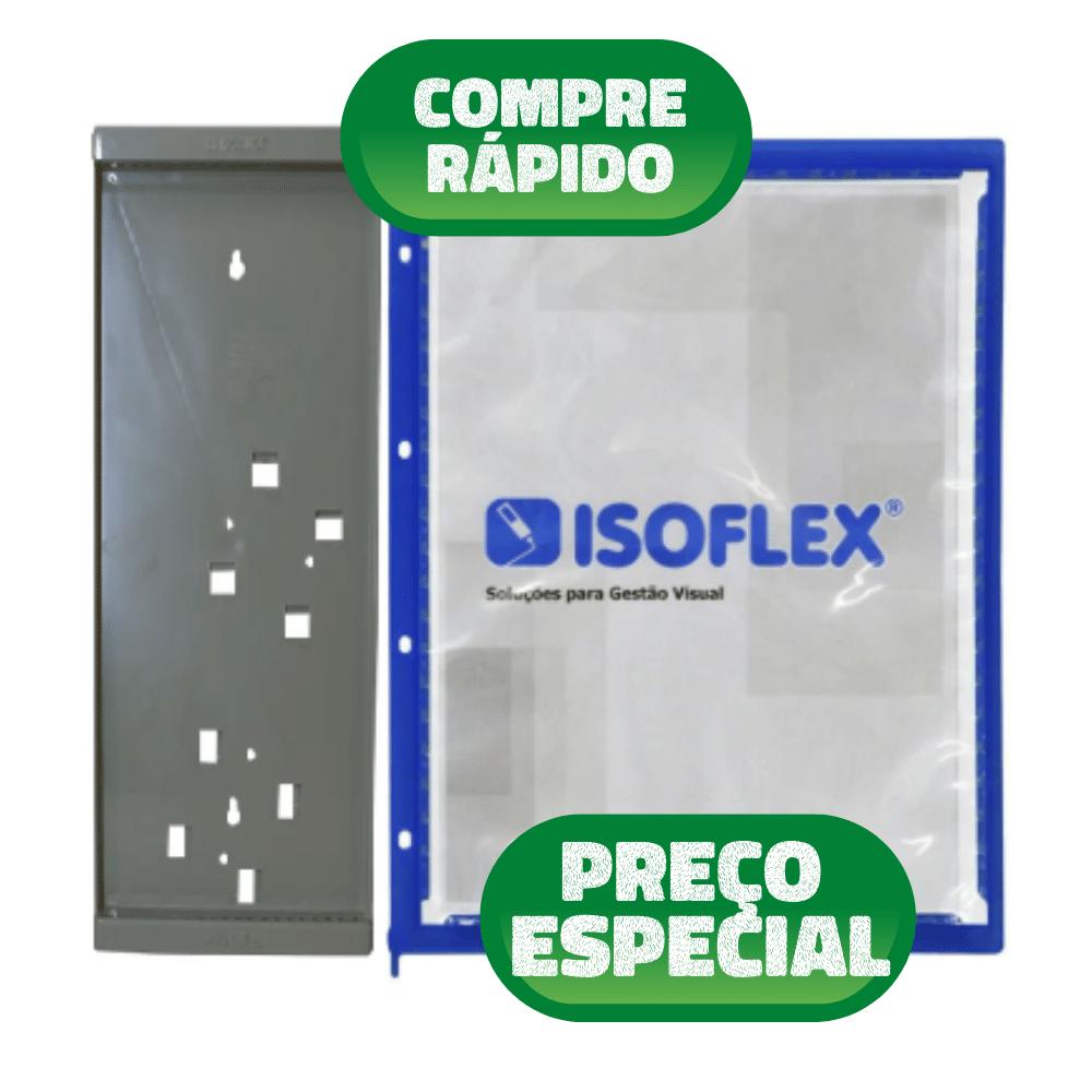Kit 20 Pastas Isoflex A4 + Suporte Cap 20 Pastas