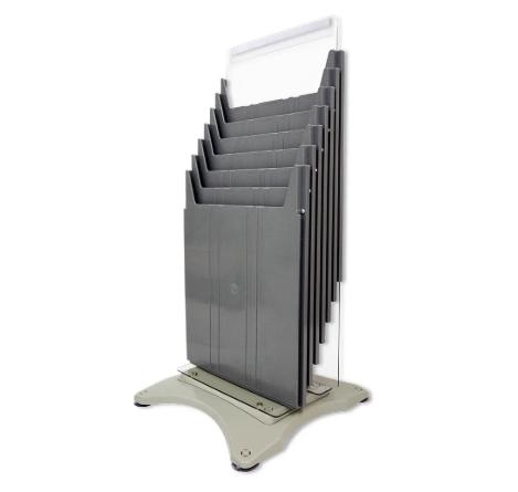 Organizador de Mesa Vertical Escaninho A4