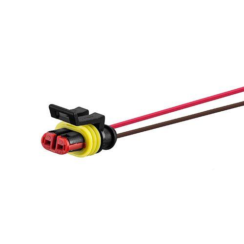 Chicote 150mm Conector 2 Vias Selado Lanterna Lateral Tyco Sinalsul