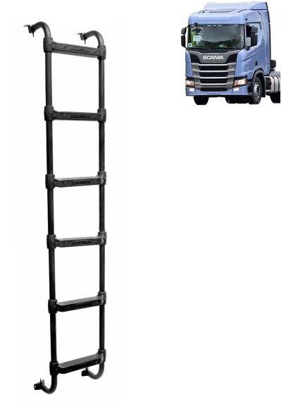 Escada Traseira Compatível com o Caminhão Scania NTG R G 6 degraus