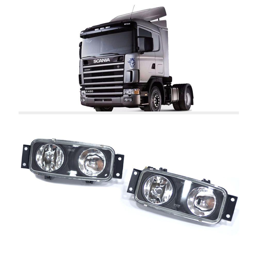 Farol Auxiliar Longo Alcance Neblina Scania Série 4 H1