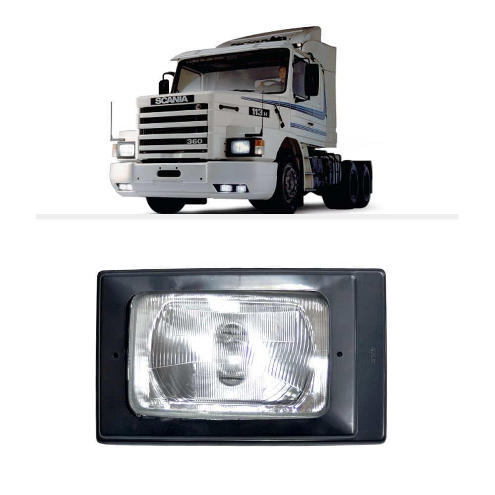 Farol Scania 112 113 H4