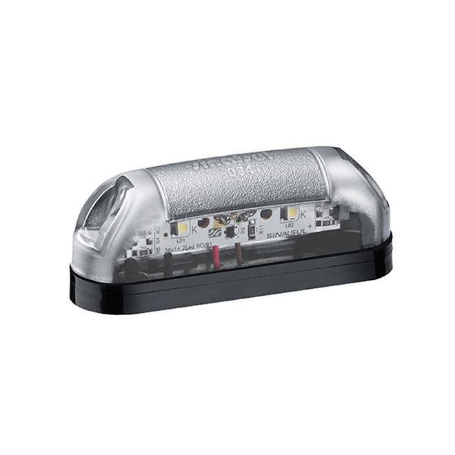 Lanterna de Placa LED Bivolt