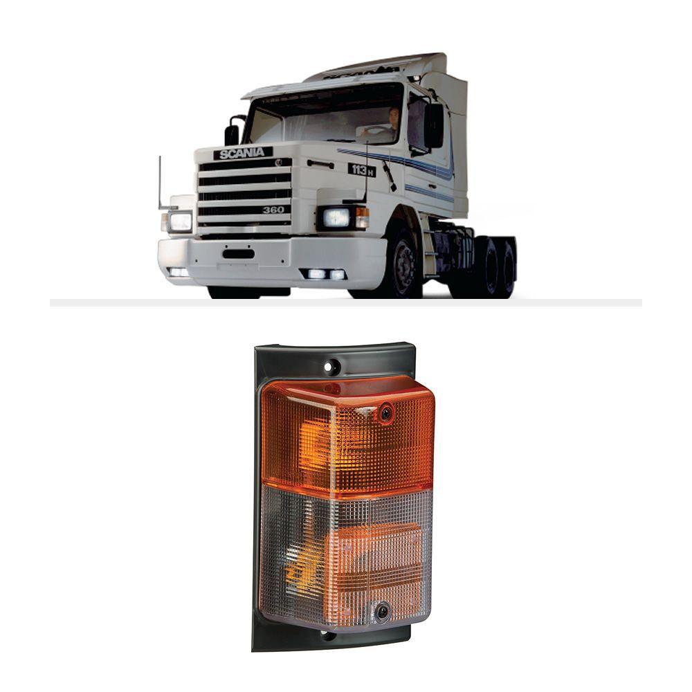 Lanterna Direcional Pisca Scania 113 112