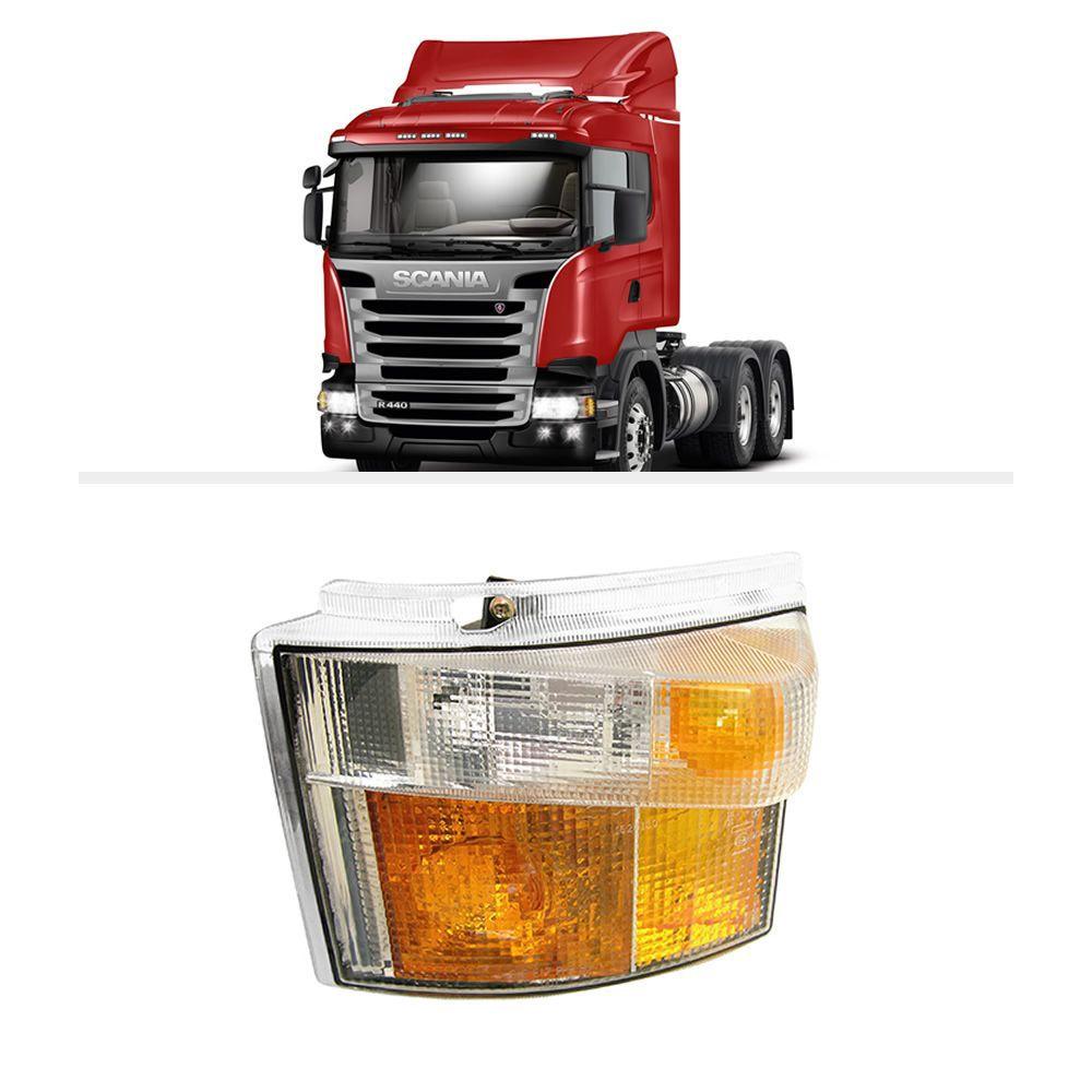 Lanterna Direcional Pisca Scania Série 4