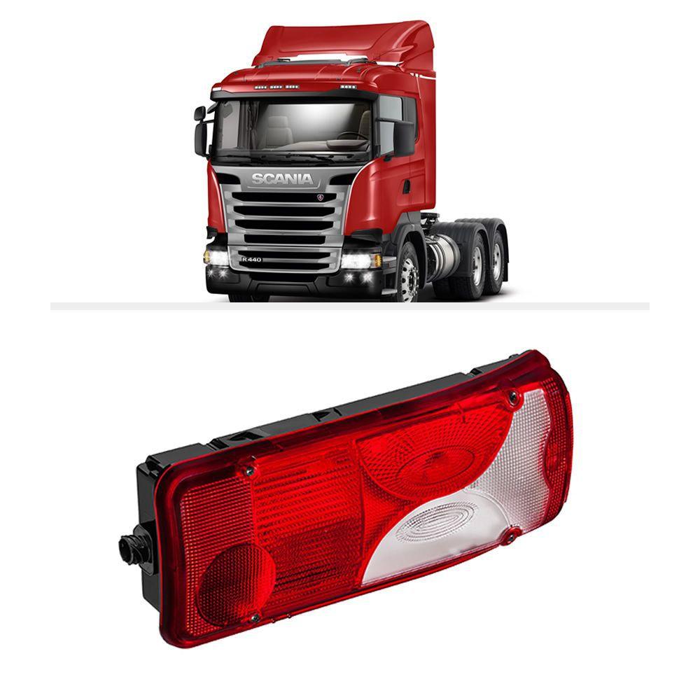 Lanterna Traseira Scania Série 4 e 5 P G R