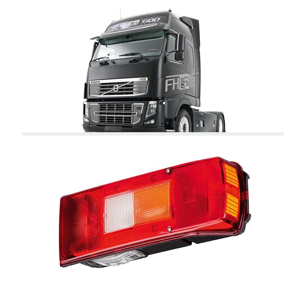 Lanterna Traseira Volvo FH VM FM Acrílico