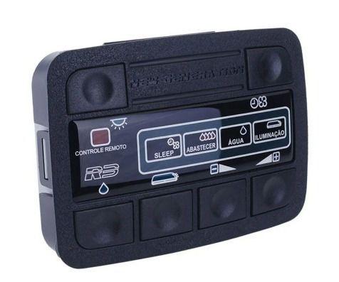 Microprocessador / Placa /Controlador Eletrônico Climatizador de Ar Resfriar Série 5 / Série 6 Dupla bomba 12v 24v