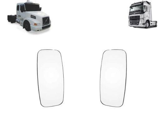 Vidro com Base Espelho Volvo FH - NH Lado Esquerdo - Lado Direito
