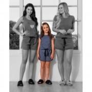 PIJAMA INFANTIL CORAÇÃO (ref: 3358)