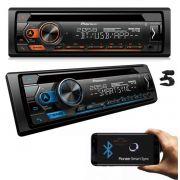 CD PLAYER PIONEER DEH-4280BT USB AUX BLUETOOTH AUTOMOTIVO