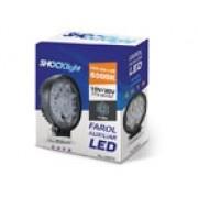 Farol Avulso Shocklight LED -  UNIVERSAL 27W BIVOLT 10V/30V