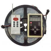 Fita Led Digital 6803 Rgb Com Controle 328 Efeitos