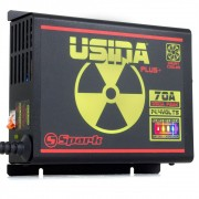 Fonte Automotiva Spark Usina 70a Battery Meter Bivolt