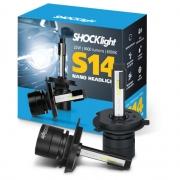 Kit Super Led Shocklight S14 - 32w 3600Lm 6000K 12V H4