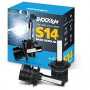 Kit Super Led Shocklight S14 - 32w 3600Lm 6000K 12V H7