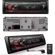 MEDIA RECEIVER PIONEER MVH-S118UI USB AUX AM FM AUTOMOTIVO