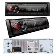 MEDIA RECEIVER PIONEER MVH-218BT USB AUX AM FM BLUETOOTH AUTOMOTIVO