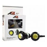 Par EAGLE LED ASX 12V Lâmpadas Olho de Águia / DRL