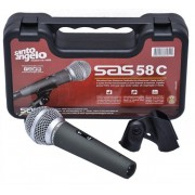 Microfone Santo Angelo Cardioide SAS 58C