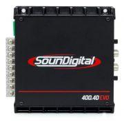 Módulo Soundigital SD400.4 400Wrms 4 Canais
