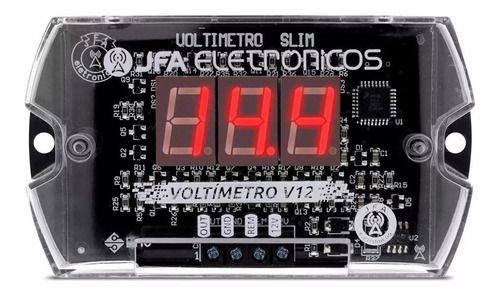 Voltímetro Jfa V12