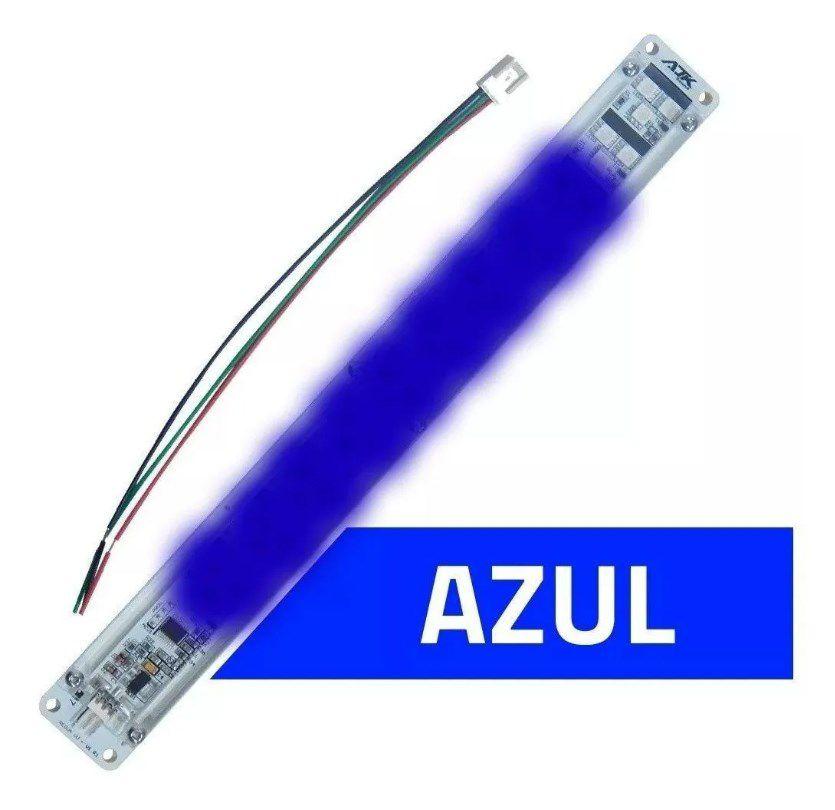 Ajk 1 Régua para Mini Vu com 33 Super Leds - Azul