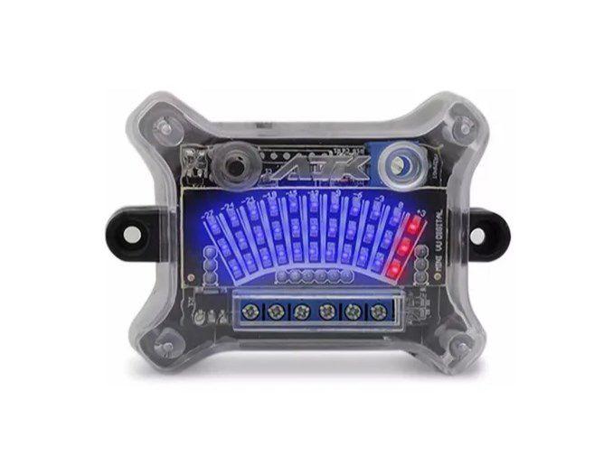 Ajk Mini Vu 12v Medidor De Áudio Central Digital 33 Leds