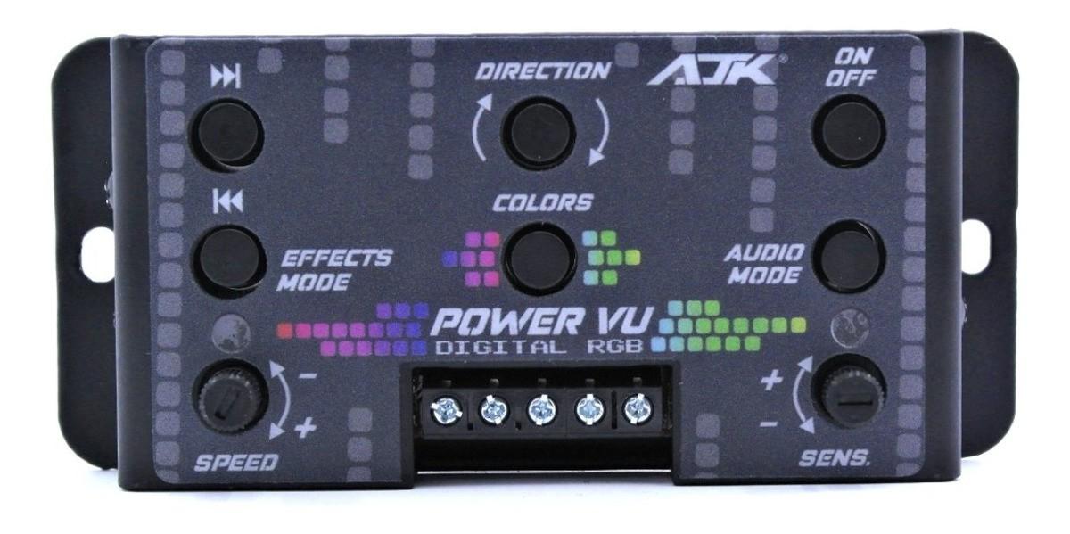Ajk Power Vu Rgb Digital Com Microfone Embutido