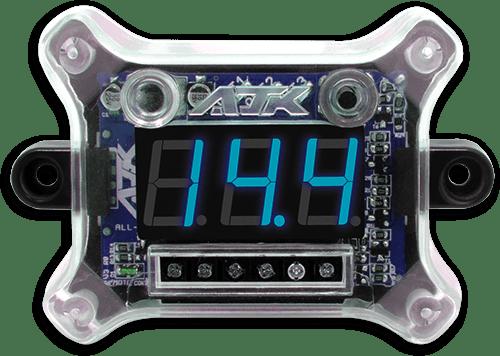 Ajk Voltímetro Digital Vittro Remote E Sequenciador