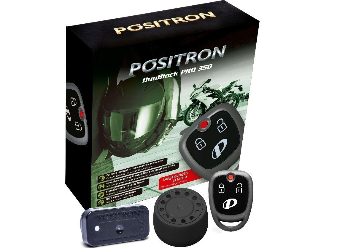 Alarme Moto Pósitron Duo Block Pro G8 350 Universal
