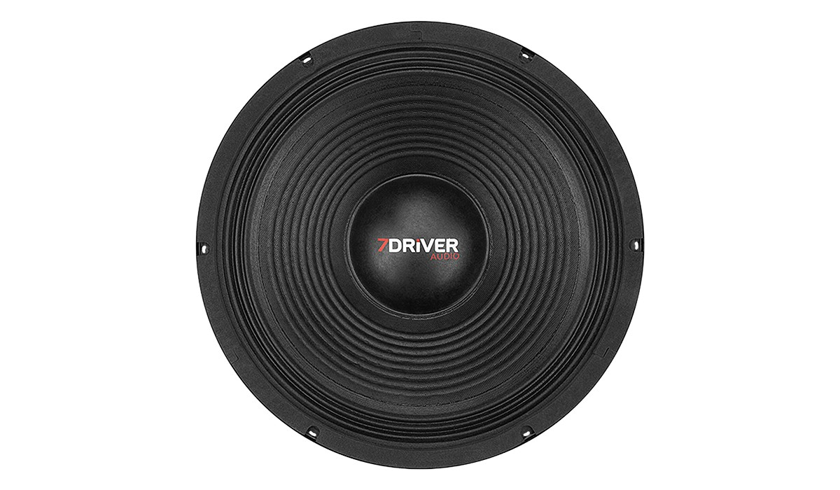 Alto Falante Woofer 7 Driver 300s 12 pol 150w Rms