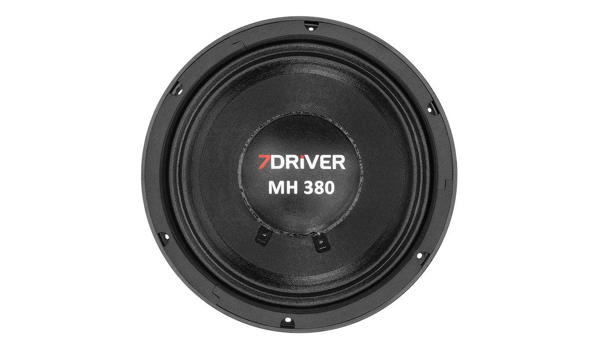 Alto Falante Woofer 7 Driver Mh380 8 Pol 8ohms