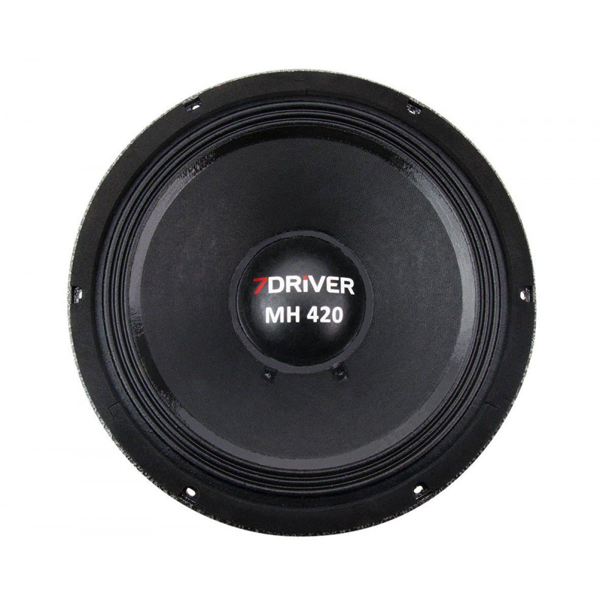 Alto Falante Woofer 7 Driver Mh420 10 Pol 8ohms