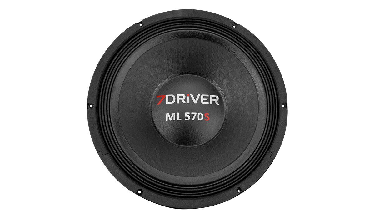 Alto Falante Woofer 7 Driver ML570s 12Pol 8ohms