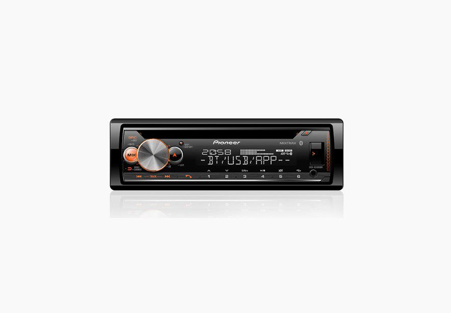 CD PLAYER PIONEER DEH-X5000BR USB AUX AM FM BLUETOOTH AUTOMOTIVO
