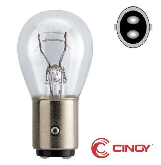 Cinoy Lâmpada 2 Polos 12v 1034 c/10 und