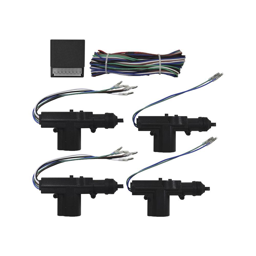 Cinoy Motor Trava Elétrica 4 Portas e 2 Masters