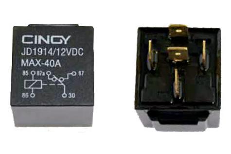 Cinoy Relê Auxiliar 5 Pinos 12v 70amp 10und