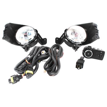 Farol Auxiliar Shocklight - Cobalt / Onix / Spin / Sonic / Novo Prisma Sem Grade Botão Modelo Original