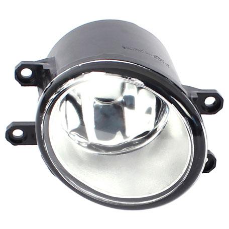 Farol Auxiliar Shocklight - Corolla 2009-2011 - com Aro Cromado Botão Modelo Original