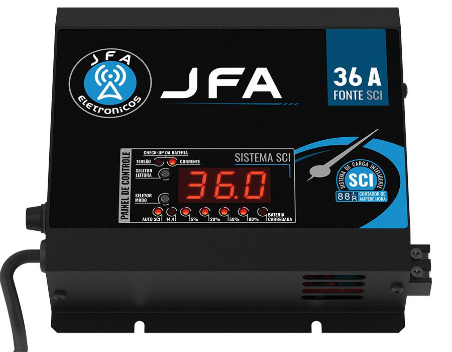 Fonte Automotiva JFA 36A Slim