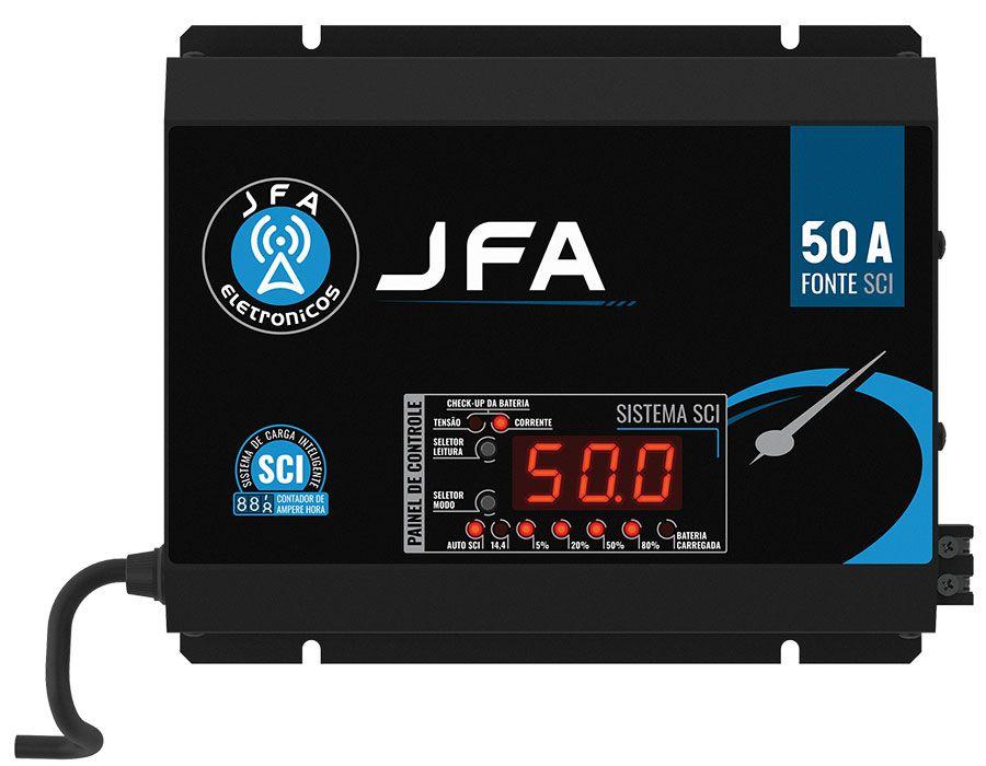 Fonte Automotiva JFA 50A Slim