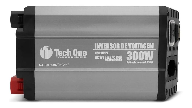 Inversor TechOne 300w 12v x 110v