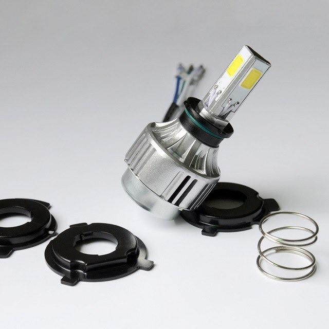 Kit Lâmpada Super Led Moto 3D Asx 35w 4000 Lúmens 6000k