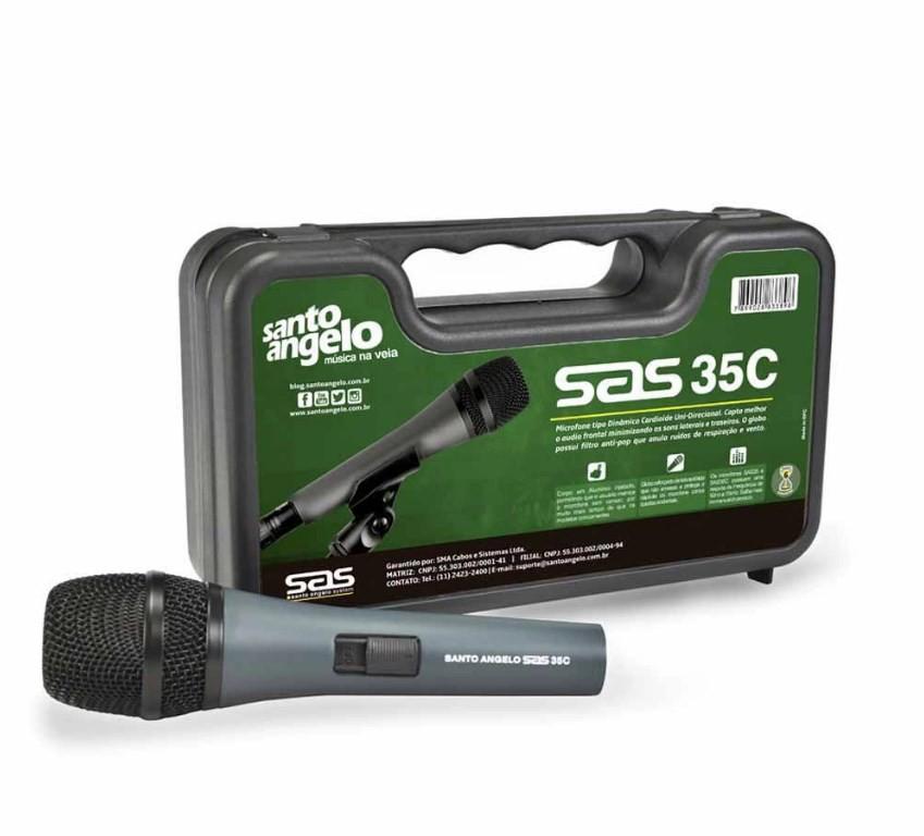 Microfone Santo Angelo Cardioide SAS 35C