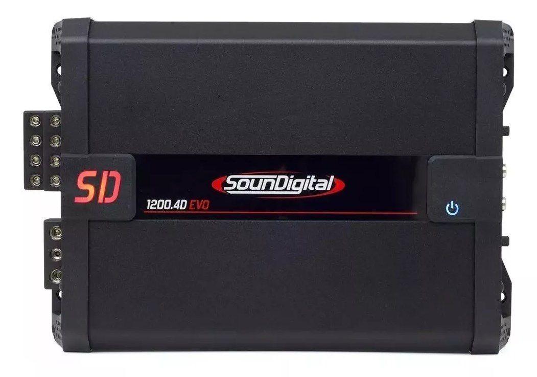 Módulo Soundigital SD1200.4 Evo 1200Wrms 4 Canais