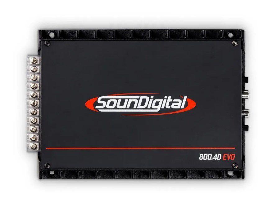 Módulo Soundigital SD800.4 800Wrms 4 Canais