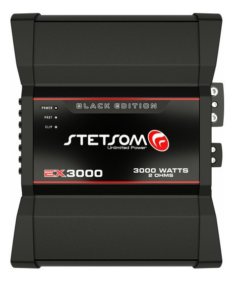 Módulo Stetsom EX 3000 Black Edition - 2 Ohms